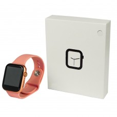 Смарт часы X6 розовые