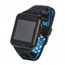 Смарт часы C5 синие с поддержкой Sim карты и карты памяти до 32GB