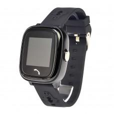 Детские смарт часы    HW8  с функцией GPS,WiFi и светящимся ремешком чёрные