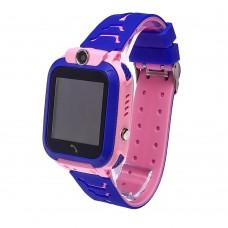 Детские смарт часы    Q12 с функцией GPS розовые