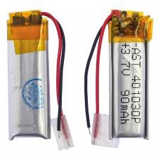 Аккумулятор 401030P универсальный с контроллером, 4,5 х 10 х 30 мм (90 mAh)