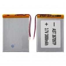 Аккумулятор 367097P универсальный с контроллером, 3,5 х 70 х 98 мм (3000 mAh)/ Nomi Corsa Tablet C070010/ Nomi Corsa Pro C070020