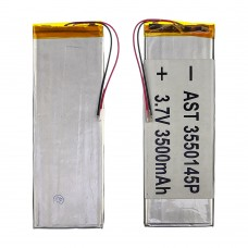 Аккумулятор 3550145P универсальный с контроллером, 3 х 50 х 148 мм (3500 mAh)