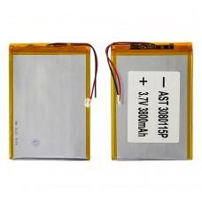 Аккумулятор 3080115P универсальный с контроллером, 3,2 х 80 х 115 мм (3800 mAh)