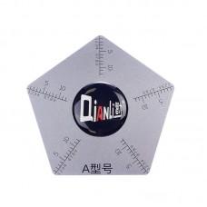 Карта металлическая  Tool Plus  пятиугольник, для разборки