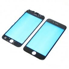 Стекло тачскрина  для Apple  iPhone 6 чёрное с рамкой HC