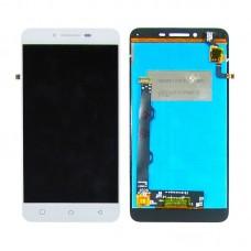 Дисплей  для LENOVO  A6020a46 Vibe K5 Plus с белым тачскрином