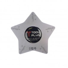 Карта металлическая  Tool Plus  звезда пятиугольная, для разборки