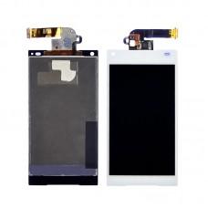 Дисплей  для SONY  E5803/E5823 Xperia Z5 Compact с белым тачскрином