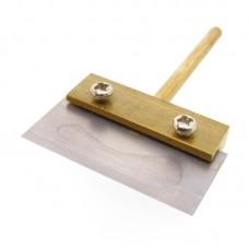 Жало паяльника с лопаткой и сменным лезвием    38 mm, d=3.8 mm для удаления остатков клея после разделения комплекта дисплей + тачскрин
