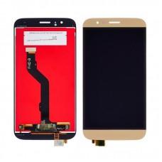 Дисплей  для HUAWEI  G8 (RIO-L01) с золотистым тачскрином