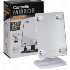 Макияжное зеркало с подсветкой Cosmetie mirror 360, №H44, (ящ-20шт.)