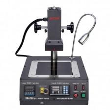 Паяльная станция инфракрасная ACHI IR6500 программируемая ИК пушка с регулируемым штативом, держателем плат, нижним подогревом