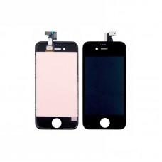 Дисплей  для APPLE  iPhone 4s с чёрным тачскрином high copy