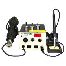 Паяльная станция  BAKU  BK761D, фен с цифровой индикацией, паяльник с аналоговой регулировкой t
