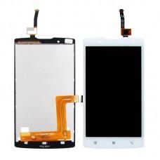 Дисплей  для LENOVO  A2010 с белым тачскрином
