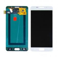 Дисплей  для SAMSUNG  A510 Galaxy A5 (2016) с белым тачскрином, с регулируемой подсветкой
