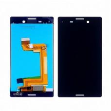 Дисплей  для SONY  E2303 Xperia M4 Aqua/E2312/E2353 с чёрным тачскрином