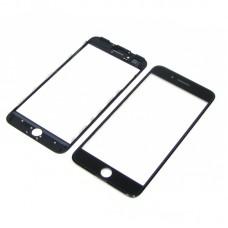 Стекло тачскрина  для Apple  iPhone 7 Plus чёрное с рамкой и OCA плёнкой HC