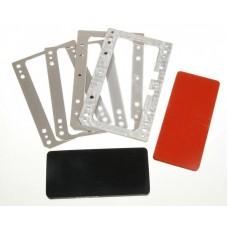 Комплект форм YMJ iPhone Xs Max (Al) Алюминевые + резиновые , для фиксации стекла и ламинации при склеивании в ламинаторе Forward RMB-1 EDGE, RMB-2 EDGE, CEO EDGE