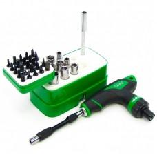 Набор инструментов  BAKU  BA-3037 (ручка двухсторонняя с трещоткой и без, 2 удлинителя, 33 насадки)