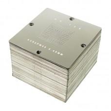 Набор трафаретов под специализированный столик    BGA 90х90 мм. (184 шт.) для ноутбуков/ПК/Xbox 360/PS3/PSP/Wii