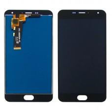 Дисплей  для MEIZU  M2 Mini с чёрным тачскрином
