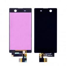 Дисплей  для SONY  E5603 Xperia M5 Dual Sim/E5606/E5633 с черным тачскрином