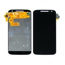 Дисплей  для MOTOROLA  Moto G4 (XT1622) с чёрным тачскрином