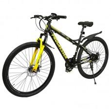 """Электровелосипед  PROGRESSER  Glide P29, черный, колеса 29"""", 24-скоростной, моторколесо 250W, аккумулятор 36V 6Ah (216Wh)"""