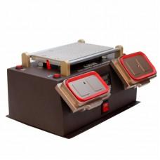 """Сепаратор ваккумный 8.5"""" (19 х 11 см)  AIDA  A-978, 3 в 1, со встроенным компрессором и приспособлениями для демонтажа дисплейных рамок"""