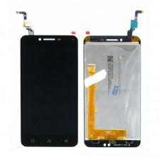 Дисплей  для LENOVO  A6020a40 Vibe K5 с чёрным тачскрином