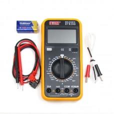 Мультиметр цифровой    DT9208 с термопарой (ток до 20A)