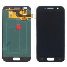 Дисплей  для SAMSUNG  A320 Galaxy A3 (2017) с чёрным тачскрином