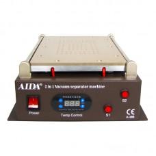 """Сепаратор ваккумный 14"""" (29,5 х 19 см) Aida A-968 со встроенным компрессором для вакуумного способа фиксации стекла"""