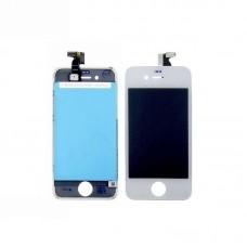 Дисплей  для APPLE  iPhone 4 с белым тачскрином high copy