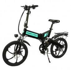"""Электровелосипед  ZM  TigerVolt 20, черный, колеса 20"""", 7-скоростной, моторколесо 350W, аккумулятор 36V 7,5Ah (270Wh)"""