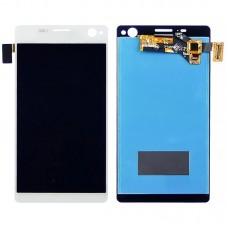 Дисплей  для SONY  E5333 Xperia C4 Dual/E5343 Xperia C4 Dual/E5363 Xperia C4 Dual с белым тачскрином