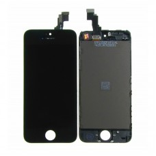 Дисплей  для APPLE  iPhone 5C с чёрным тачскрином high copy