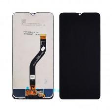 Дисплей  для SAMSUNG  A207 Galaxy A20S (2019) с чёрным тачскрином, с регулируемой подсветкой