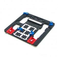 Держатель плат  AIDA  A21 для iPhone 5S-8+, из высокотемпературного композита с гнездами под BGA микросхемы
