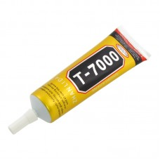 Клей силиконовый    T-7000, чёрный, 50ml, в тюбике с дозатором
