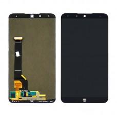 Дисплей  для MEIZU  15 Plus с чёрным тачскрином OLED