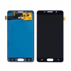 Дисплей  для SAMSUNG  A510 Galaxy A5 (2016) с чёрным тачскрином, с регулируемой подсветкой