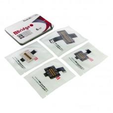 Набор высококачественных шлейфов iBridge  для APPLE  iPhone 6, для проверки и ремонта разъёма Lightning, LCD+TOUCH, фронтальной и основной камеры