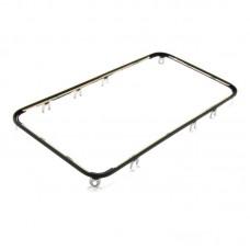 Дисплейная рамка  для APPLE  iPhone 4s чёрная со скотчем