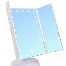Макияжное зеркало с Led подсветкой, тройное (ящ-24шт.)