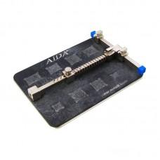 Держатель плат AIDA A-1214, из высокотемпературного композита с гнездами под BGA микросхемы (держатель на пружине)