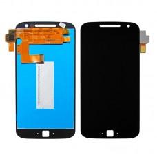 Дисплей  для MOTOROLA  Moto G4 Plus (XT1642) с чёрным тачскрином