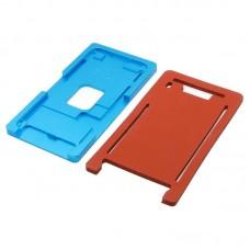 Комплект форм (из металла и резины)  для APPLE  iPhone 7 Plus, для отцентровки и склеивания дисплея со стеклом оснащённым дисплейной рамкой